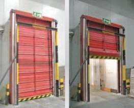 High Speed Folding Doors Instant Pass ISO - OSA Door Parts