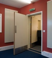 SILENTDOOR Timber Acoustic Doors image