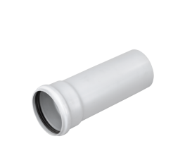 Real seal socket/spigot. (Soil system – Pipe 110 mm)....