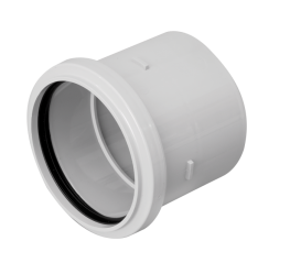 Ring seal/solvent socket. (Soil system – Coupling 110 mm)....