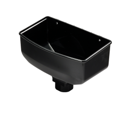 Suitable for use with 68mm circular and 65mm square downpipe, using appropriate socket....
