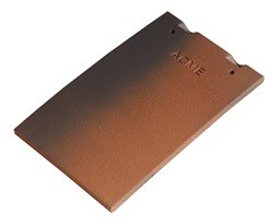 Acme Single Camber Clay Plain Tile image