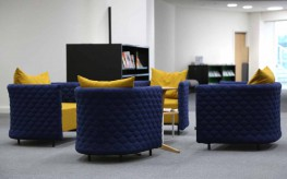 The cloud quilt seating range's tactile, pillowy surround is designed to invite and comfort without consuming masses of space. Whether you are looking for somewhere to shelter or meet or simply to relax, cloud quilt has a magnetic appeal. The cloud upholster...