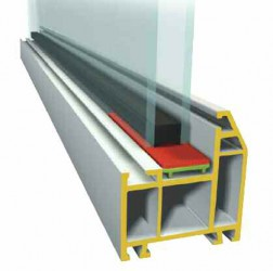 These bridge packers are generally designed in cooperation with window system designers and manufacturers and are often, especially with U-PVC profiles, profile specific....
