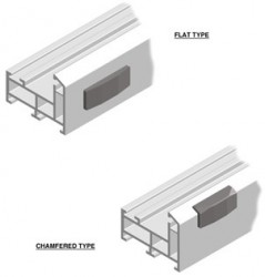 The handle wedge works with the window locking system and sits on the surface of the window frame.  The window handle systems are designed to engage the handle wedge to allow for the sash window locking mechanism to be located tightly up to the window frame in...