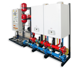 The Potterton Commercial MB Series is a prefabricated system that can essentially be dropped in and connected, which can significantly reduce your installation costs. The MB Series is most suitable for utilities or light commercial applications....