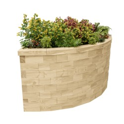 WoodBlocX Street Furniture Wyvis Planter image
