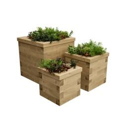 WoodBlocX Street Furniture Novar Planters image