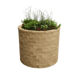 WoodBlocX Street Furniture Nevis Planter image