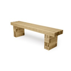WoodBlocX Street Furniture Torridon Bench image