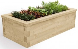 WoodBlocX Street Furniture Alder Planter image