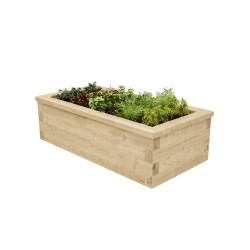WoodBlocX Street Furniture Alder Planter - WoodBlocX