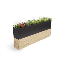 WoodBlocX Street Furniture Assynt Planter image