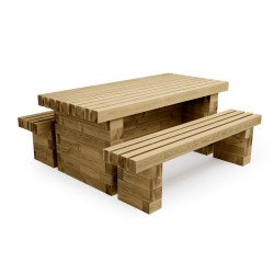 WoodBlocX Street Furniture Glencoe Picnic Table image