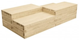 WoodBlocX Tomintoul Multilevel Seating image
