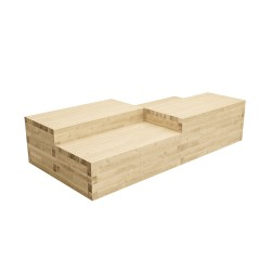 WoodBlocX Tomintoul Multilevel Seating - WoodBlocX