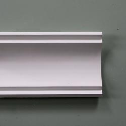 Plaster Coving Large Plain 120mm Drop LPC012 - Plaster Ceiling Roses