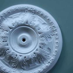 Acanthus & Ovolo Plaster Ceiling Rose 500mm dia. MPR004 image
