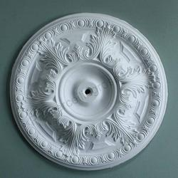 Acanthus & Ovolo Plaster Ceiling Rose 500mm dia. MPR004 - Plaster Ceiling Roses