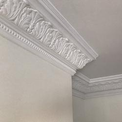 Plaster Coving Large Acanthus Leaf 165mm Drop LPC021 - Plaster Ceiling Roses