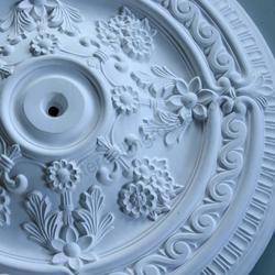Victorian Ornate Ceiling Plaster Ceiling Rose 660MM LPR002 - Plaster Ceiling Roses