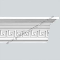 Plaster Coving Greek Key 100mm Drop MPC004 - Plaster Ceiling Roses