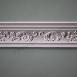 Plaster Coving Fleur de Lys 110mm Drop MPC003 image