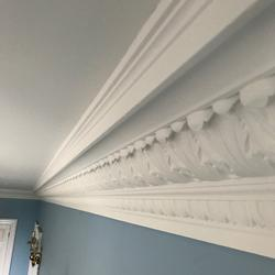 Plaster Coving Victorian 235mm Drop XLPC004 image