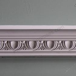 Plaster Coving Small Egg and Dart 60mm SPC022 image