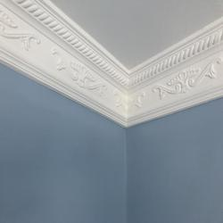 Plaster Coving Decorated 115mm Drop LPC008 - Plaster Ceiling Roses