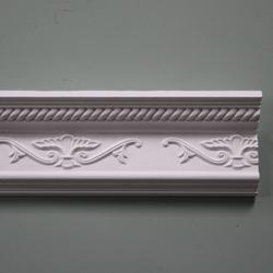 Plaster Coving Decorated 115mm Drop LPC008 image