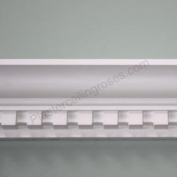 Plaster Coving Dentil 110mm Drop MPC061 - Plaster Ceiling Roses