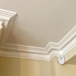 Plaster Coving Swan Neck 100mm MPC065 - Plaster Ceiling Roses