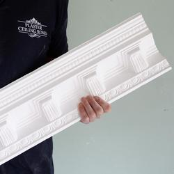 Plaster Coving Large Victorian Grand Entrance Hall 120mm Drop LPC024 image