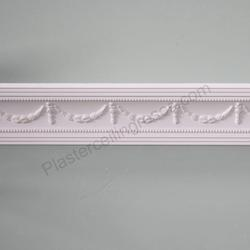 Plaster Coving Georgian Swag and Drop 85mm Drop MPC062 image