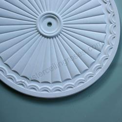 Adams Sunburst Plaster Ceiling Rose 750mm dia. LPR020 image