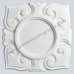 Art Nouveau Square Plaster Ceiling Rose 560mm dia. MPR009 image