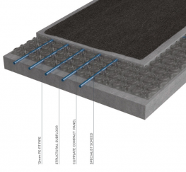 Underfloor heating - Screed floors - OMNIE ScreedPlate Compact image