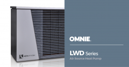 Air source heat pump - Alpha Innotec range - Model example (LWD 70A/SX –  9.3kW – MCS – Single Phase) image