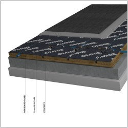 Underfloor heating for floating floors that need low buildup - OMNIE LowBoard (22mm) image