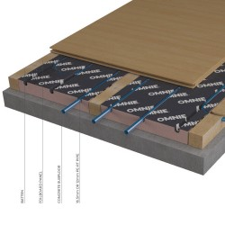 Underfloor heating for timber batten floors - OMNIE FoilBoard image