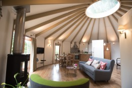 UNDERFLOOR HEATING - THE LAST WORD IN GLAMPING