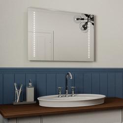 Ultra Slim LED Bathroom Mirror, IP44 Rated 50x70cm image