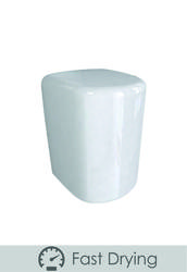 PL88MWH White Metal Fast Dry Hand Dryer image
