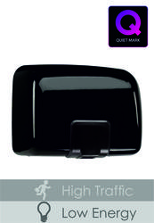 PL81MBK Black Metal Quartz Hand Dryer image