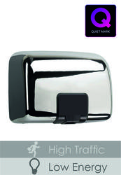 PL81MCR Chrome Quartz Hand Dryer image