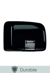 PL80MBK Quarto Black Metal Hand Dryer image
