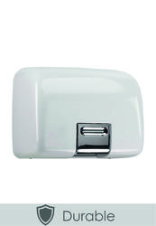 PL80MWH White Quarto Hand Dryer image