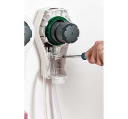 DMS11-WK/NT ECOSHOT - Sink - White - Grey (NON-TWIST) - JDS Products Ltd