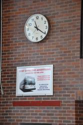 529XX Semi-flush Wall Clock image